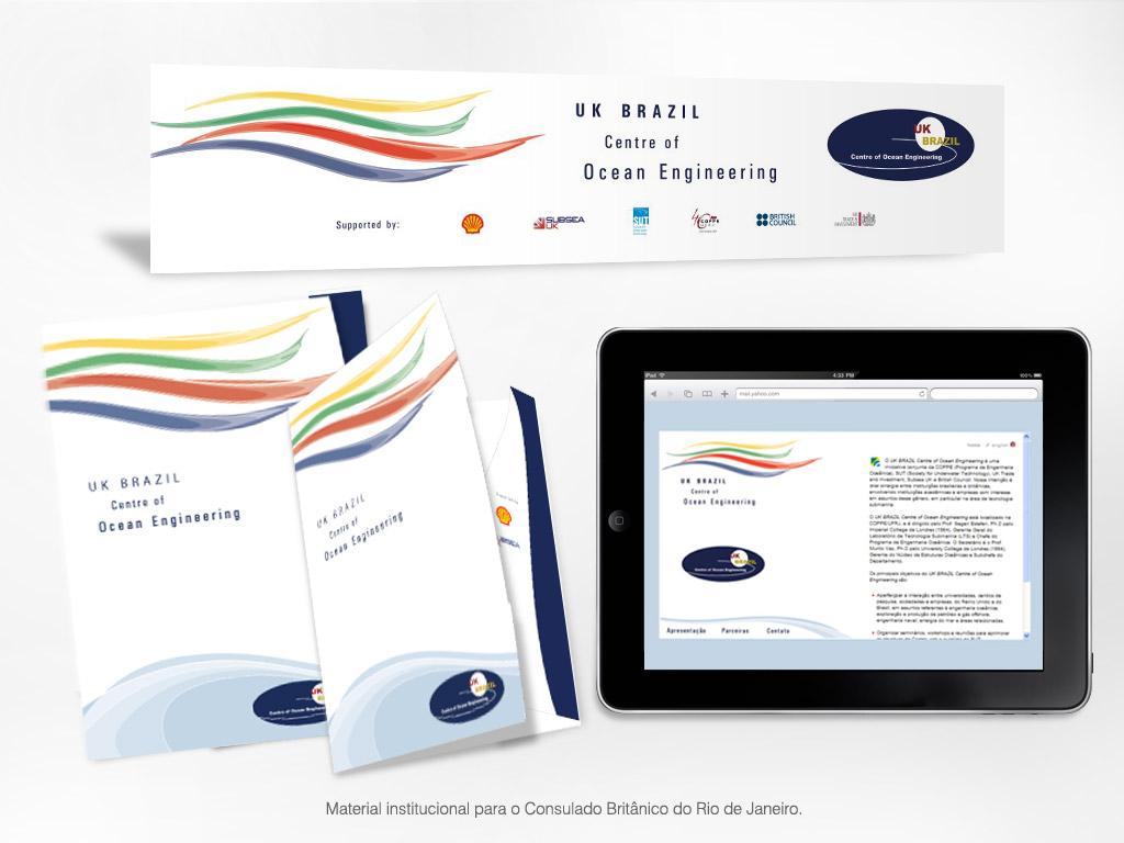 Material Institucional – Consulado Britânico do Rio de Janeiro