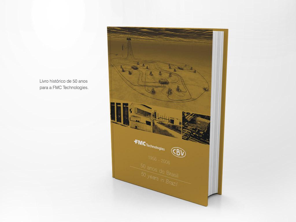Livro histórico de 50 anos – FMC Technologies