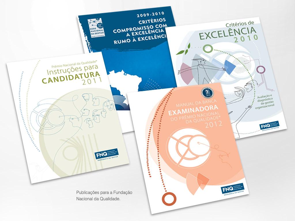 Publicações para a Fundação Nacional da Qualidade