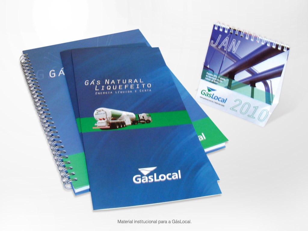 Material Institucional – GásLocal