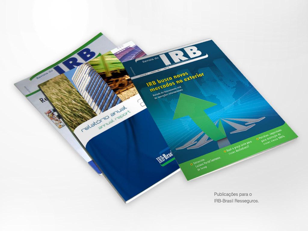 Publicações para o IRB-Brasil Resseguros
