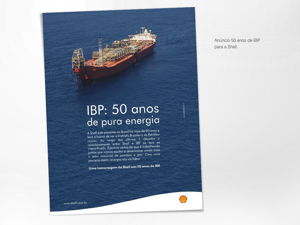 Anúncio de 50 anos do IBP – Shell