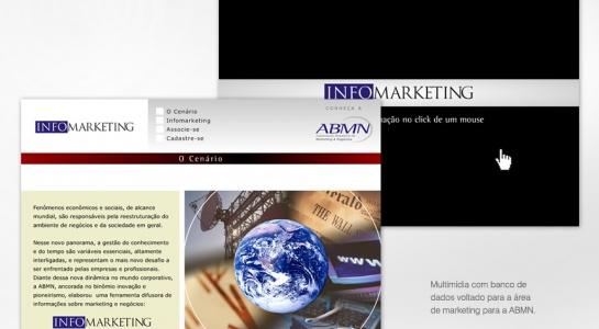 Multimídia com banco de dados voltado para a área de marketing para a ABMN