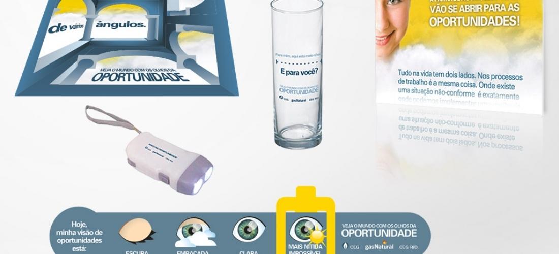 Campanha de comunicação interna – CEG Rio