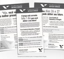 Campanha de vestibular – Fundação Getulio Vargas