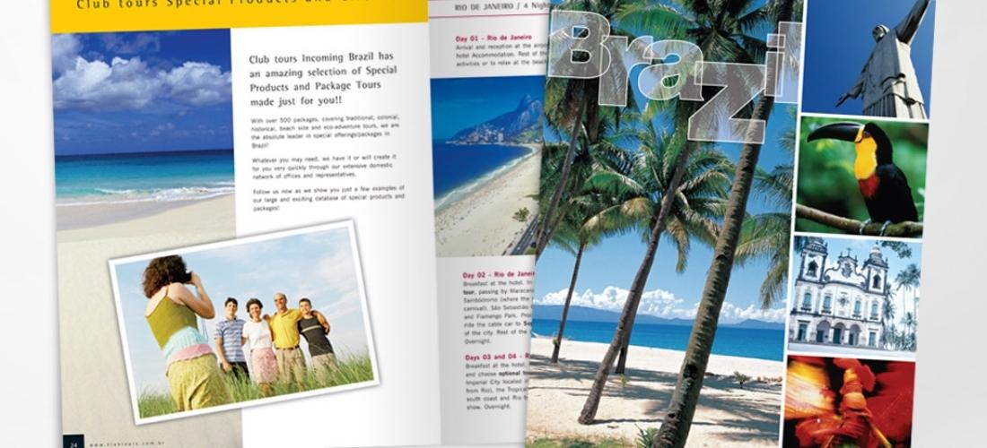 Material Institucional – Operadora de turismo do Grupo Marsans.