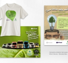 Campanha ambiental interna para a Miriam Veículos – Mercedez Benz