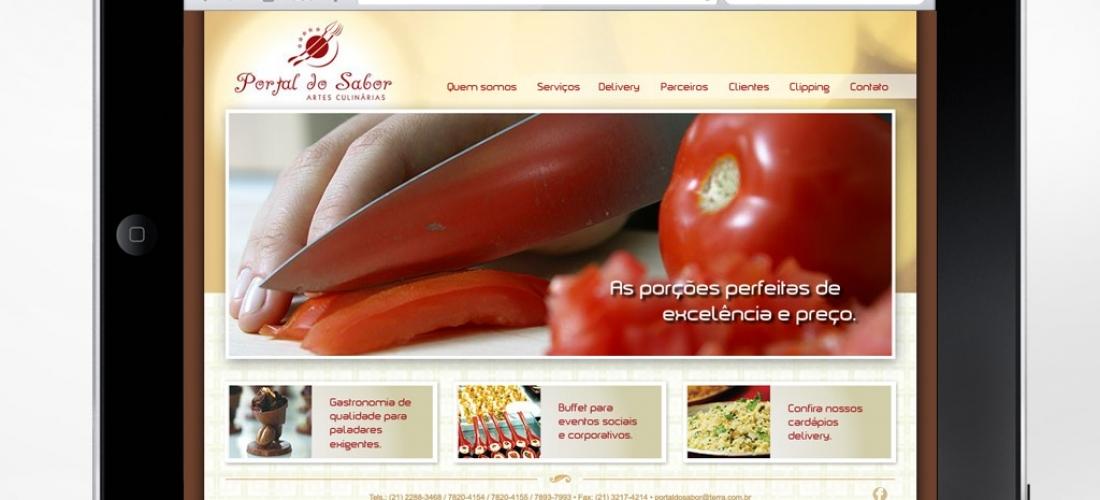 Website – Portal do Sabor