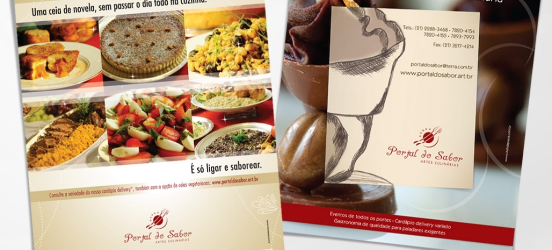 Anúncios institucionais – Portal do Sabor