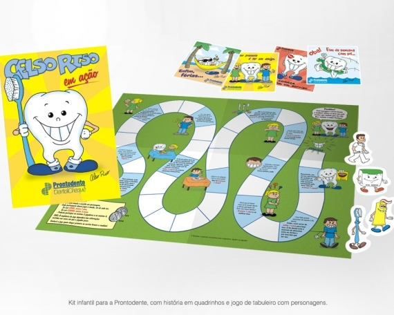 Kit infantil – Prontodente
