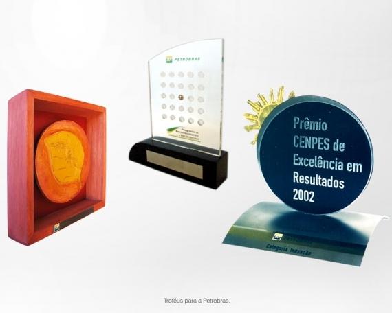 Troféus para a Petrobras